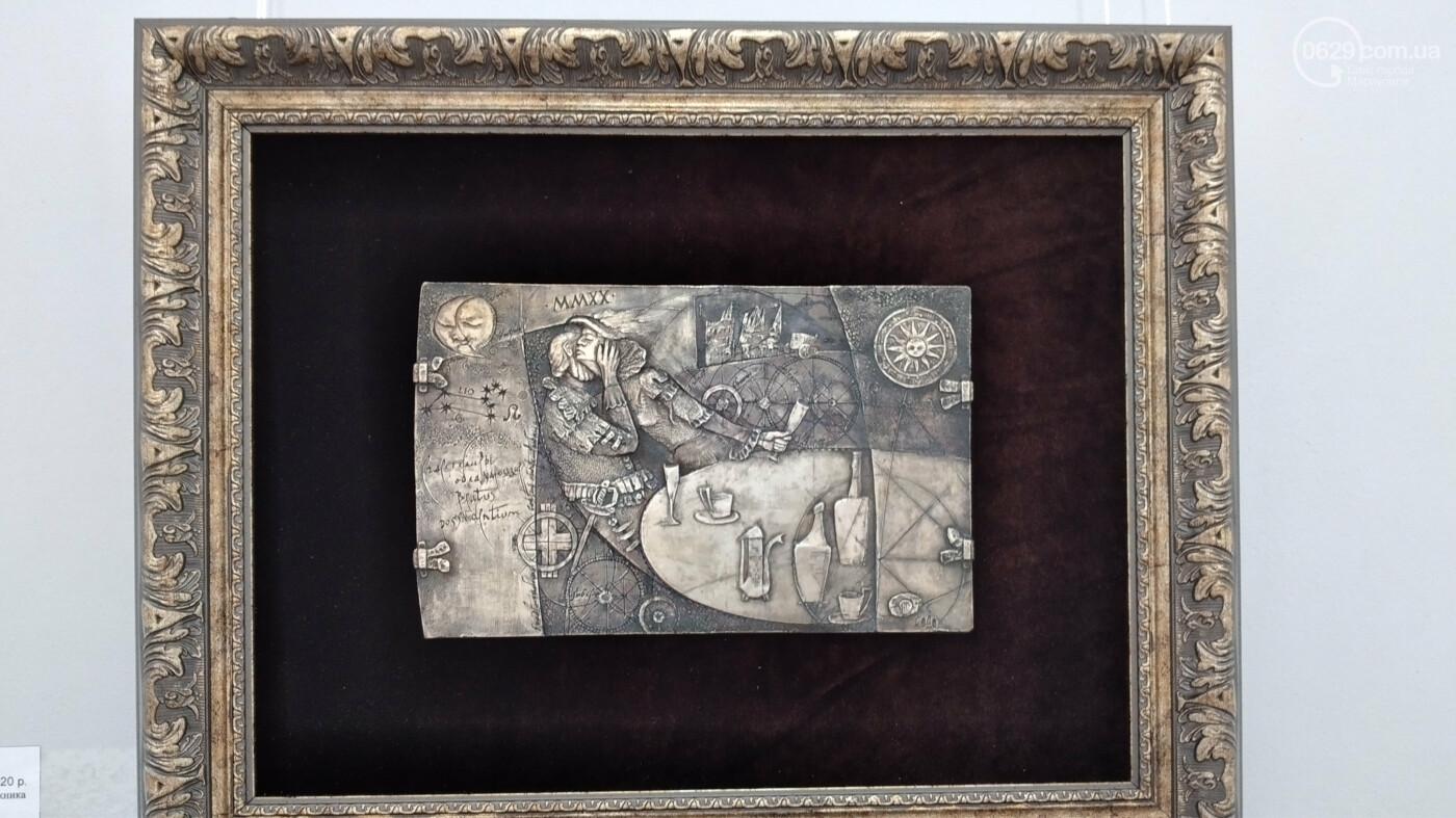 Философия в металле. Известный медальер подарил Мариуполю уникальные плакеты, - ФОТО, фото-11