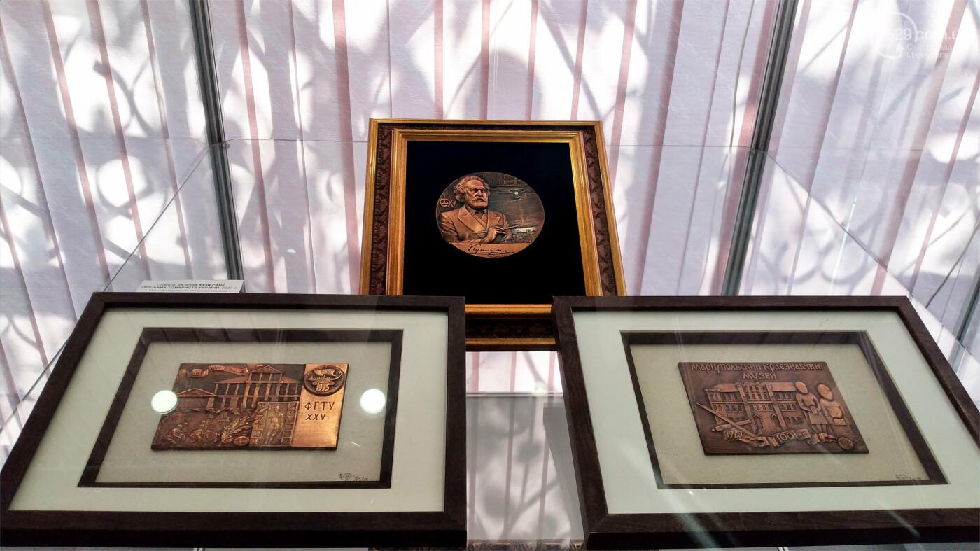 Философия в металле. Известный медальер подарил Мариуполю уникальные плакеты, - ФОТО, фото-12
