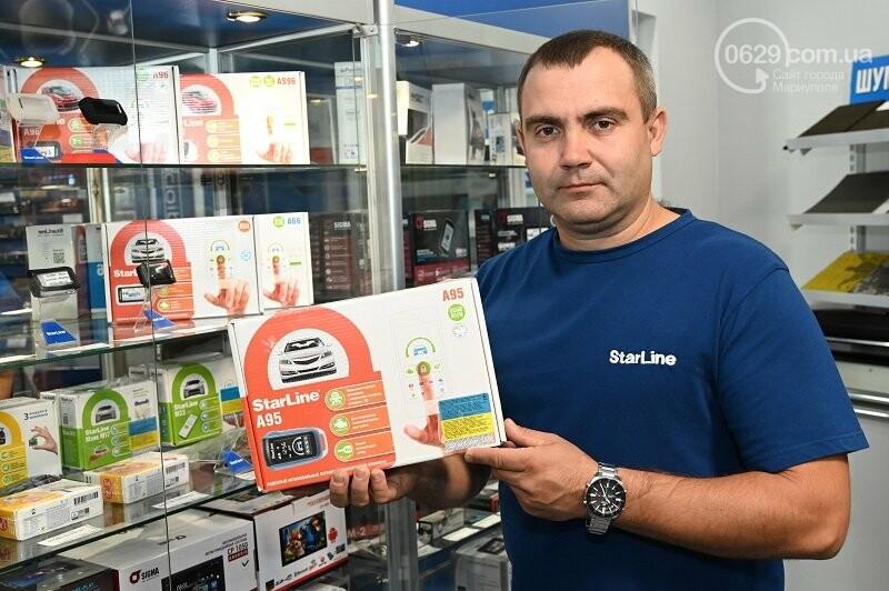 В Мариуполе состоялось открытие фирменного центра «StarLine» от компании «Авто Звук», фото-2