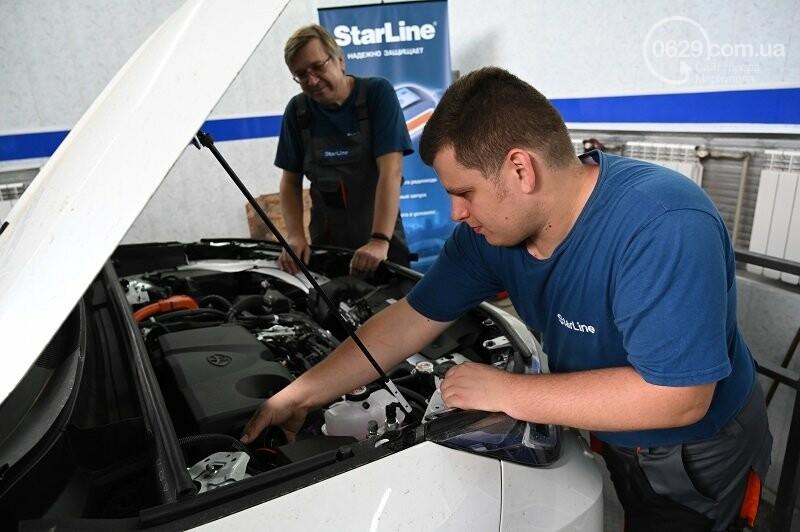 В Мариуполе состоялось открытие фирменного центра «StarLine» от компании «Авто Звук», фото-3