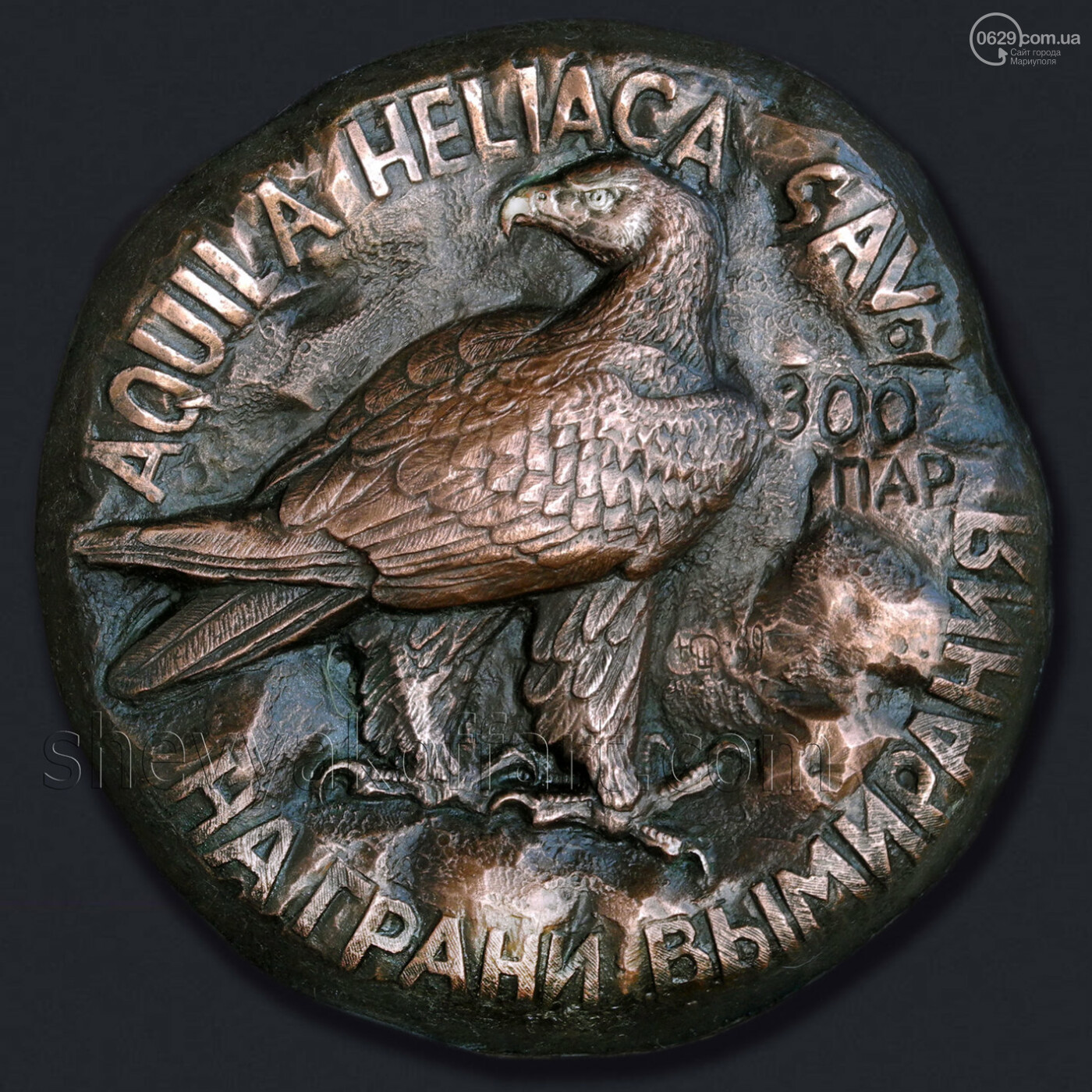 Философия в металле. Известный медальер подарил Мариуполю уникальные плакеты, - ФОТО, фото-8