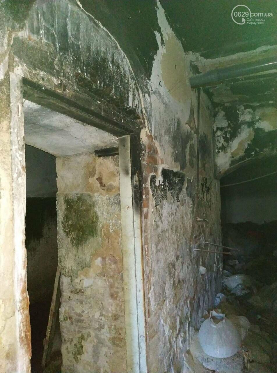 В Мариуполе старинный дом захламили бездомные и забросили коммунальщики, - ФОТО, фото-3