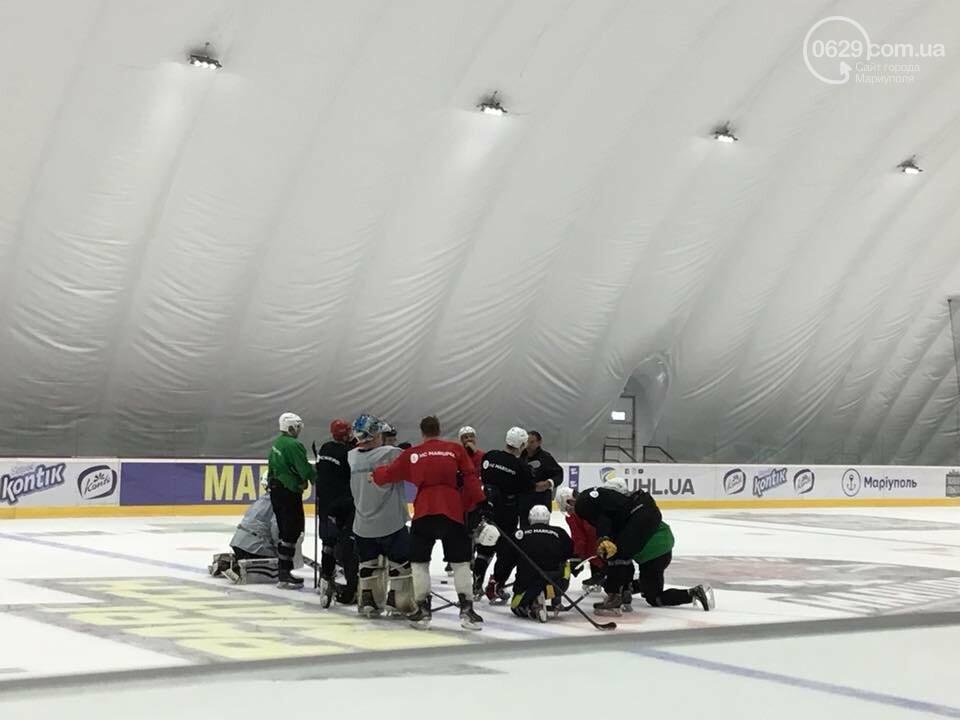 Хоккеисты в городе. Как тренируются, живут и знакомятся с мариупольчанками, - ФОТО  , фото-5