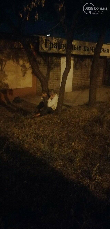 В Мариуполе женщина застряла между деревьями, - ФОТО, фото-2