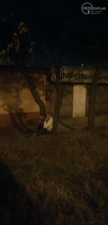 В Мариуполе женщина застряла между деревьями, - ФОТО, фото-1