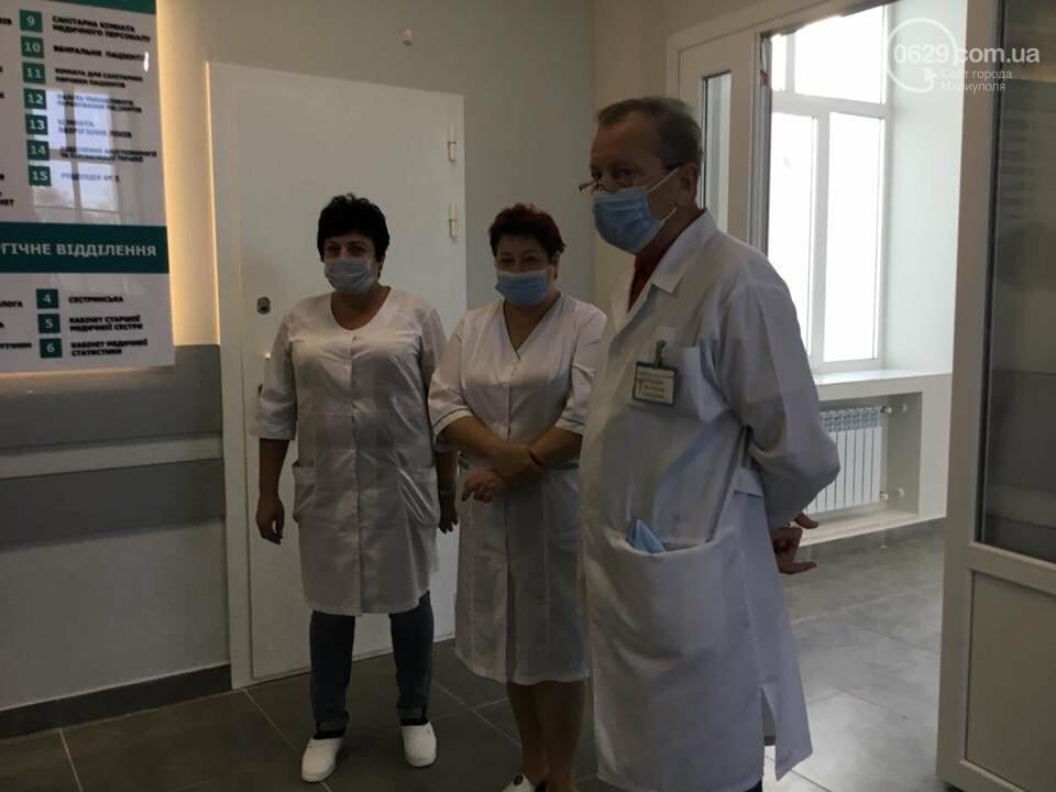 В Мариуполе  в  городской больнице открыли отделение интенсивной терапии, - ФОТО, фото-6