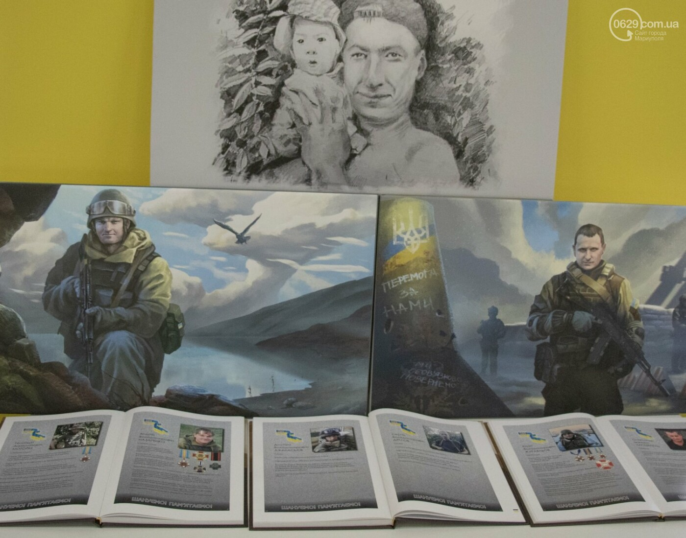 Как в Донецкой области память оставляют на холстах и в масле, - ФОТОРЕПОРТАЖ, фото-6