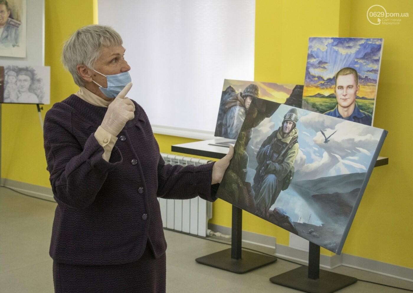 Как в Донецкой области память оставляют на холстах и в масле, - ФОТОРЕПОРТАЖ, фото-5
