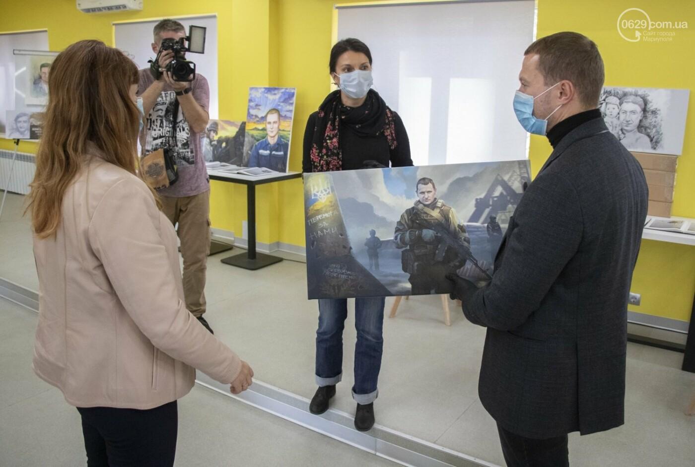 Как в Донецкой области память оставляют на холстах и в масле, - ФОТОРЕПОРТАЖ, фото-2