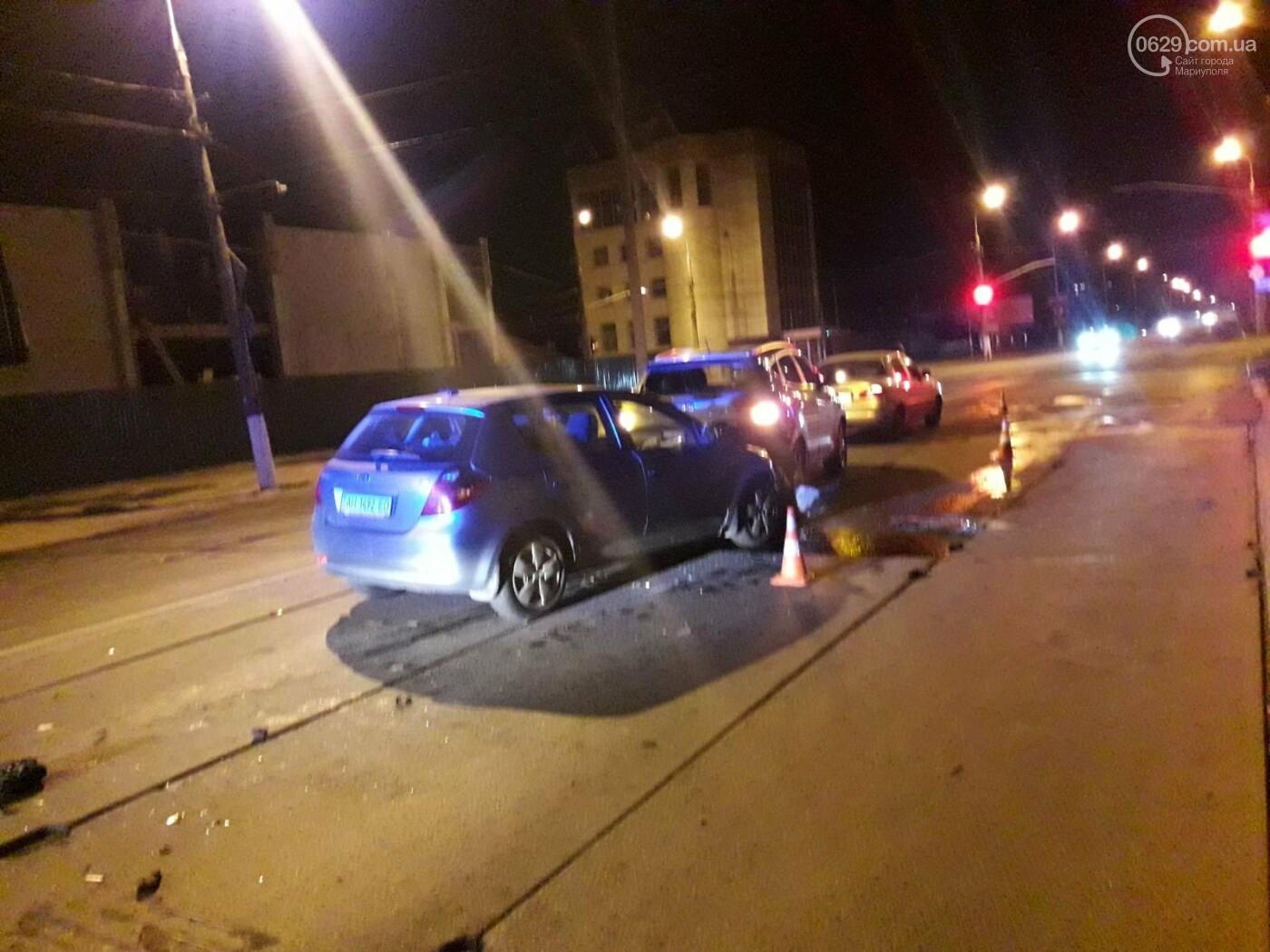 """Тройное ДТП в Мариуполе. Пьяный на """"КИА"""" протаранил два автомобиля, - ФОТО, фото-3"""