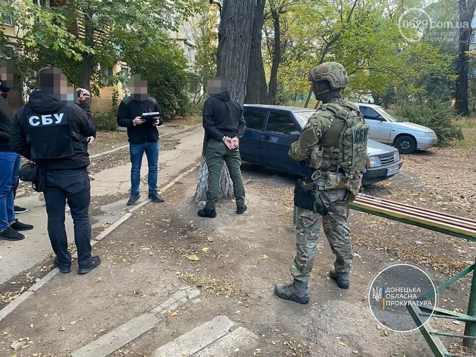Появились подробности задержания вымогателя в Мариуполе, - ФОТО, фото-1