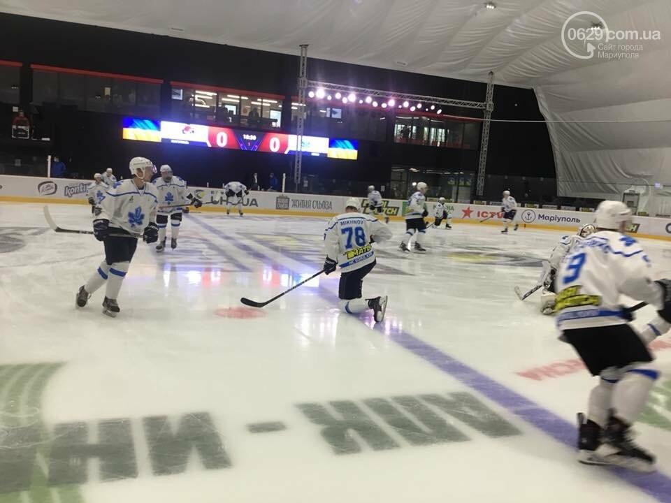 Открытие ледовой арены в Мариуполе: испуг Зеленского, травма оператора и салют, - ФОТО, ВИДЕО, фото-3