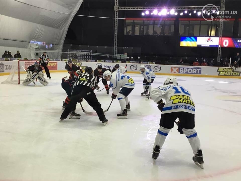 Открытие ледовой арены в Мариуполе: испуг Зеленского, травма оператора и салют, - ФОТО, ВИДЕО, фото-2