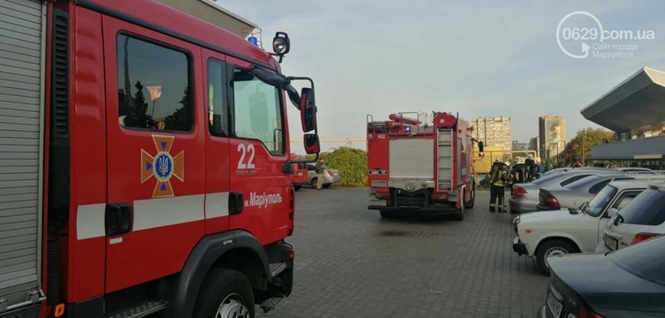 Что горело на территории  фудкорта в центре Мариуполя,- ФОТО, фото-2