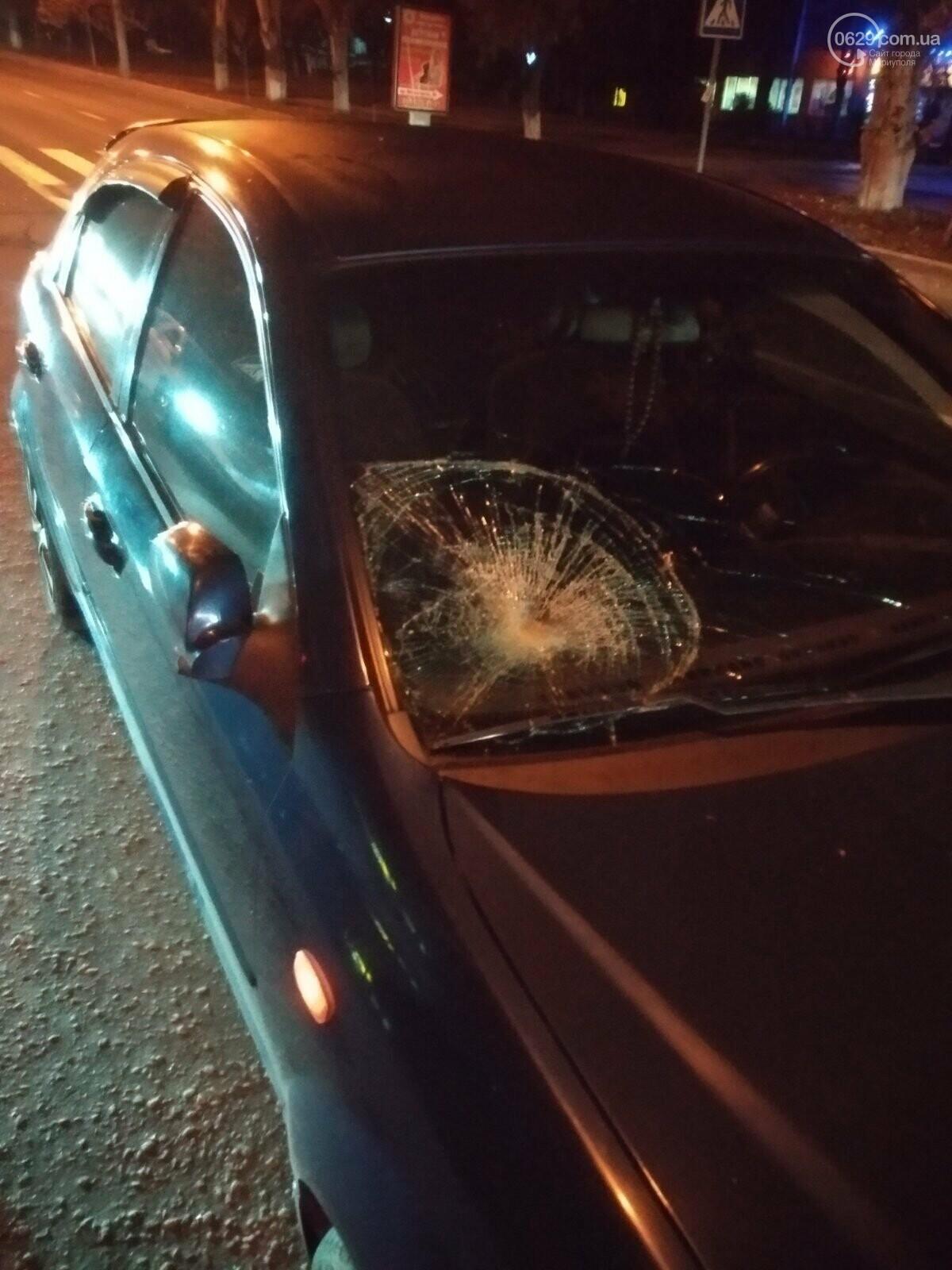 В Мариуполе автомобиль «Шевроле» сбил мужчину,- ФОТО, фото-1