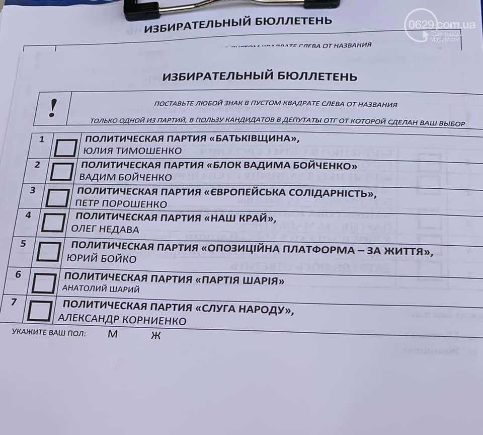 Мариуполь. Местные выборы – 2020 он-лайн, фото-2