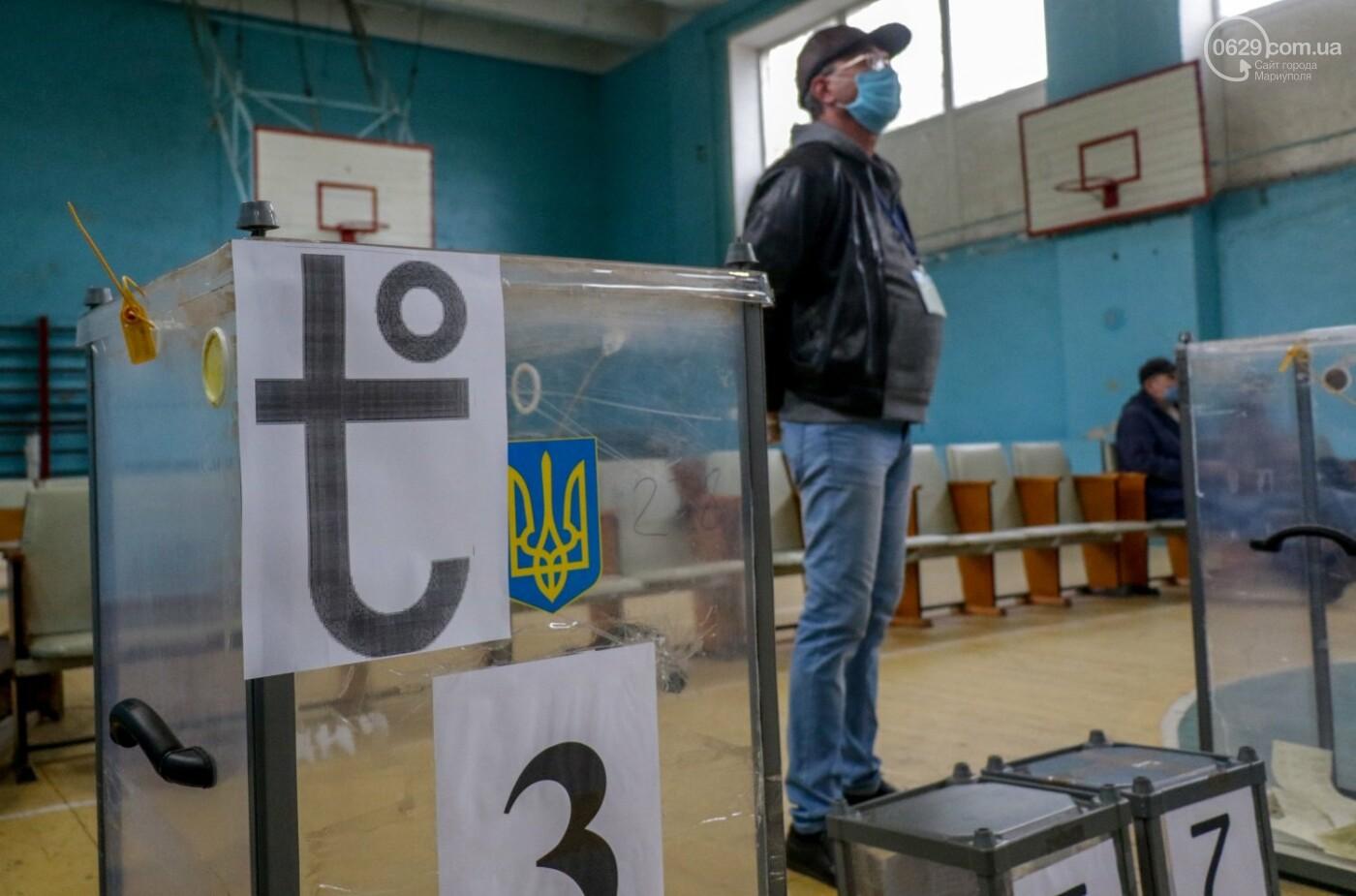 Как проходят выборы в Мариуполе – в 32-х фотографиях, - ФОТОРЕПОРТАЖ, фото-14