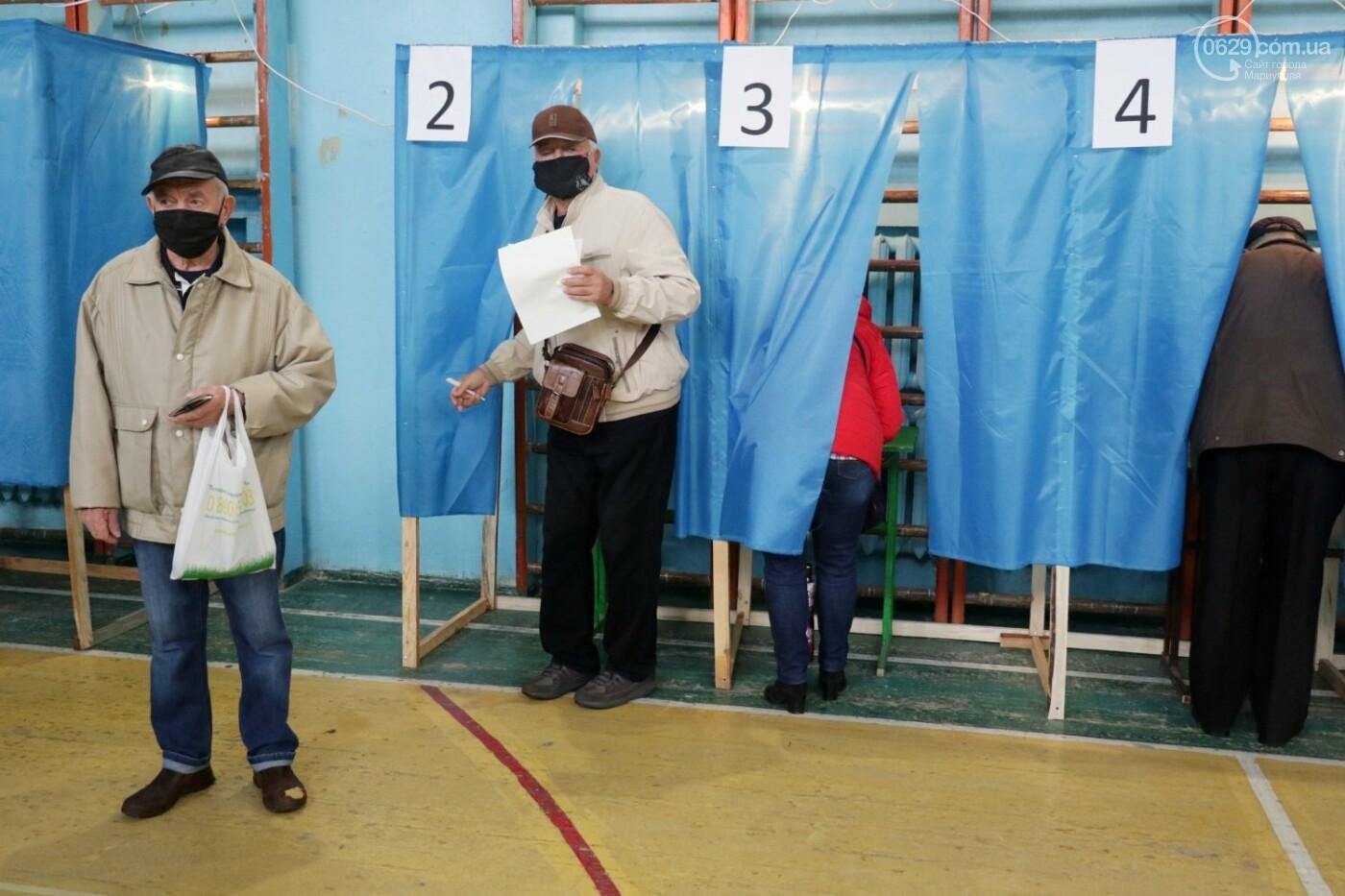 Как проходят выборы в Мариуполе – в 32-х фотографиях, - ФОТОРЕПОРТАЖ, фото-6