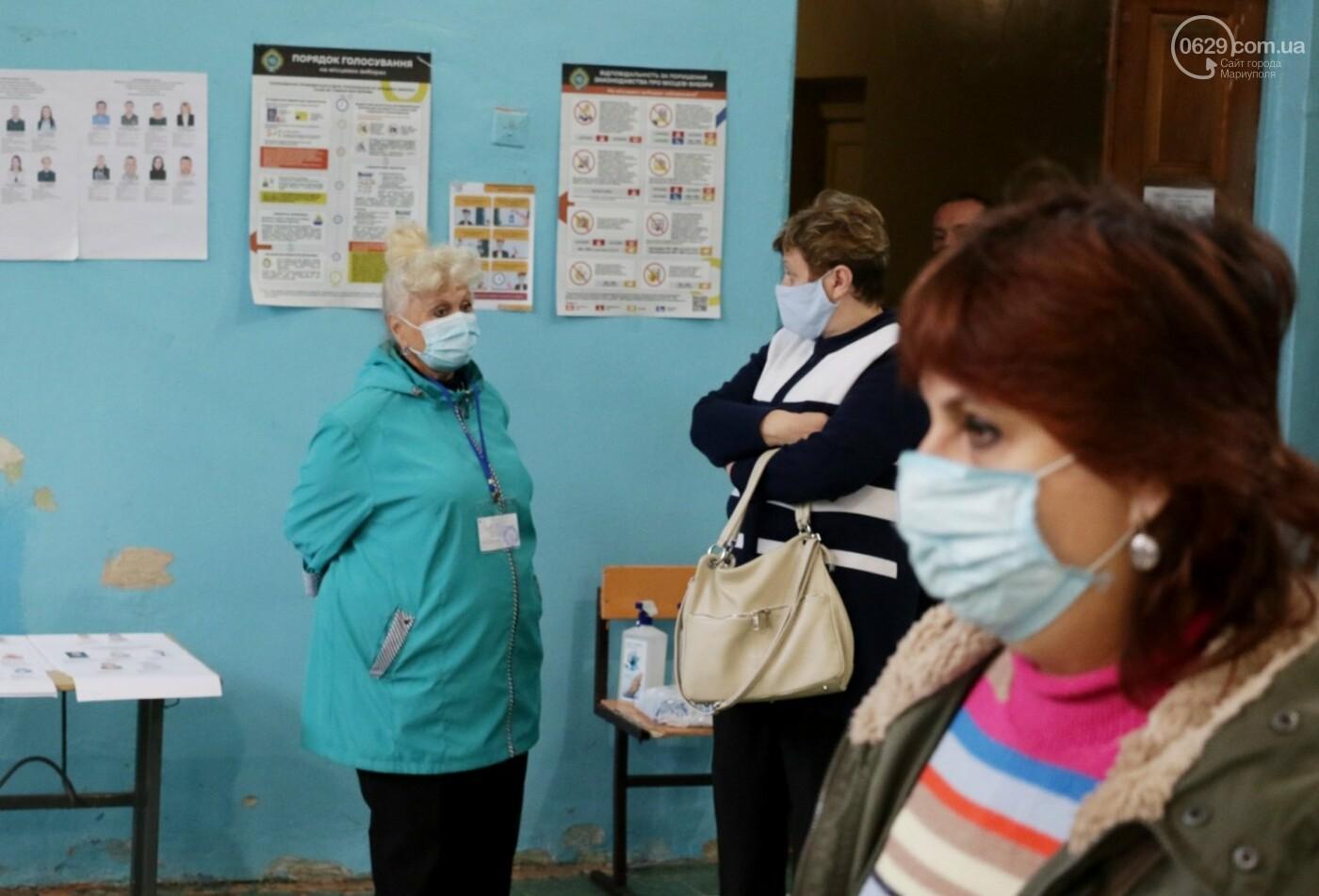 Как проходят выборы в Мариуполе – в 32-х фотографиях, - ФОТОРЕПОРТАЖ, фото-7
