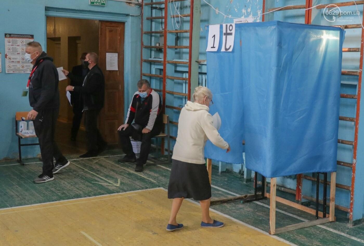 Как проходят выборы в Мариуполе – в 32-х фотографиях, - ФОТОРЕПОРТАЖ, фото-8