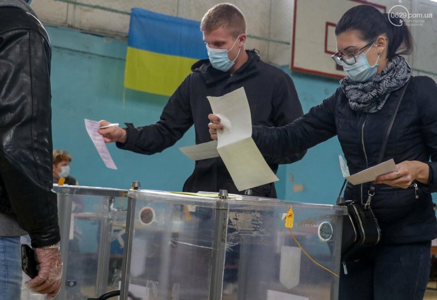 Как проходят выборы в Мариуполе – в 32-х фотографиях, - ФОТОРЕПОРТАЖ, фото-17