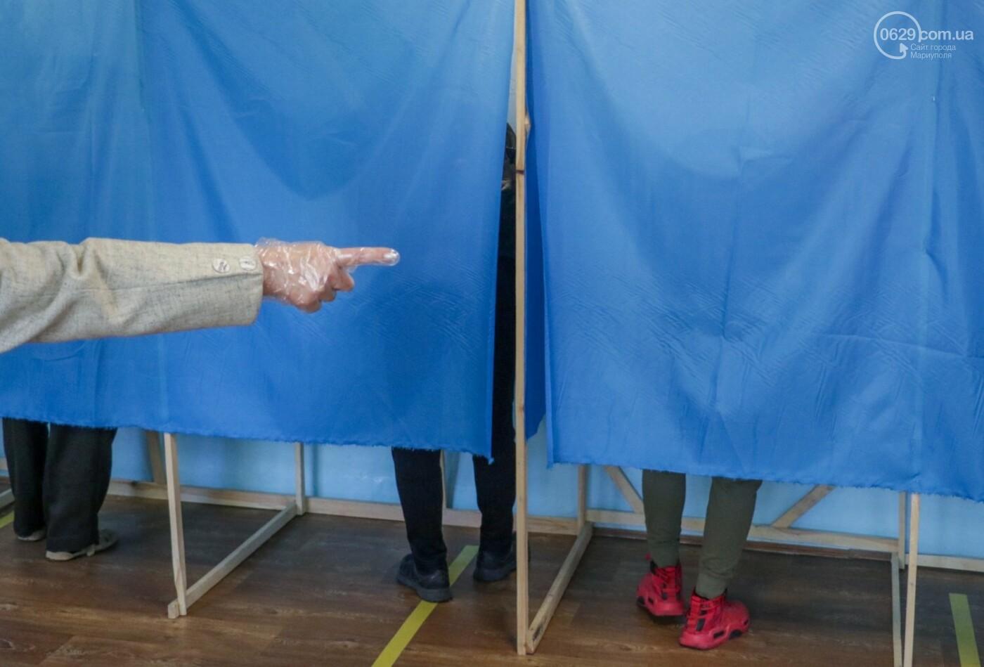 Как проходят выборы в Мариуполе – в 32-х фотографиях, - ФОТОРЕПОРТАЖ, фото-5