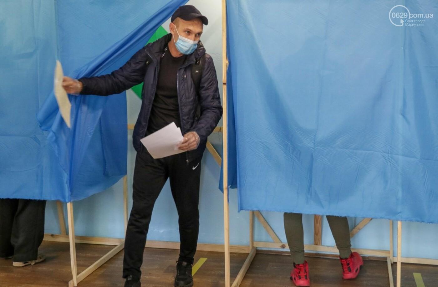 Как проходят выборы в Мариуполе – в 32-х фотографиях, - ФОТОРЕПОРТАЖ, фото-12