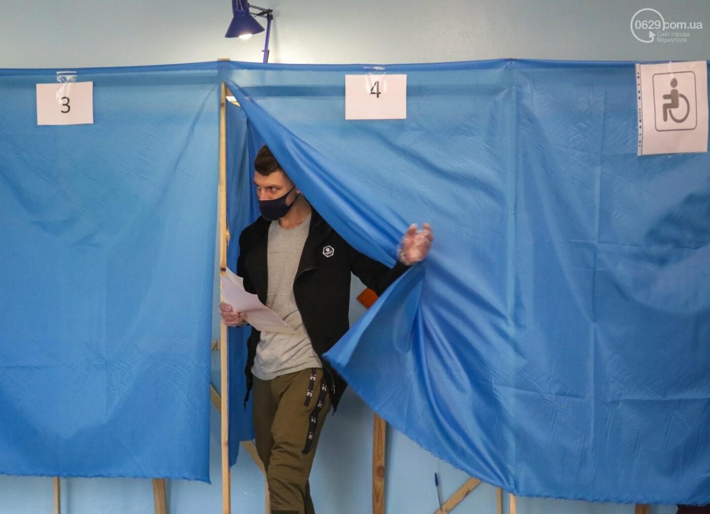 Как проходят выборы в Мариуполе – в 32-х фотографиях, - ФОТОРЕПОРТАЖ, фото-13