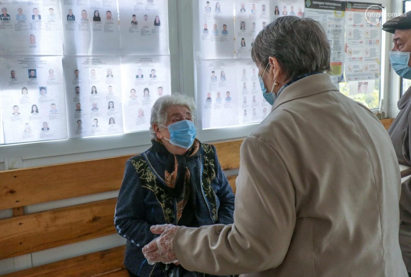 Как проходят выборы в Мариуполе – в 32-х фотографиях, - ФОТОРЕПОРТАЖ, фото-9