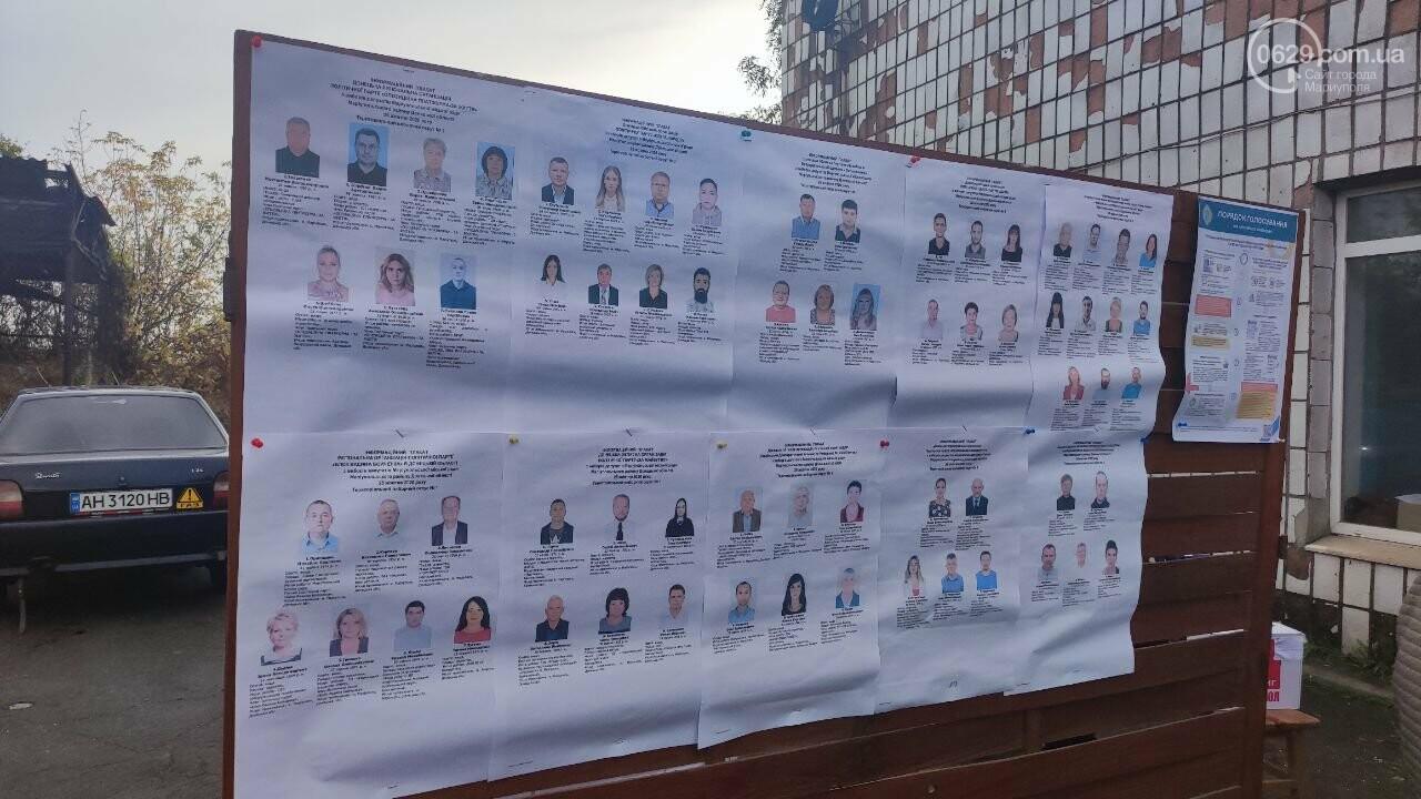 Очереди, люди в масках и проверка температуры. Как проходят выборы в Мариуполе, - ФОТОРЕПОРТАЖ, ВИДЕО, фото-28