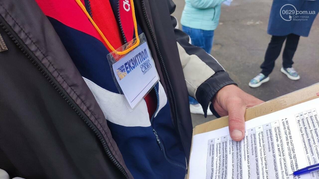 Очереди, люди в масках и проверка температуры. Как проходят выборы в Мариуполе, - ФОТОРЕПОРТАЖ, ВИДЕО, фото-42