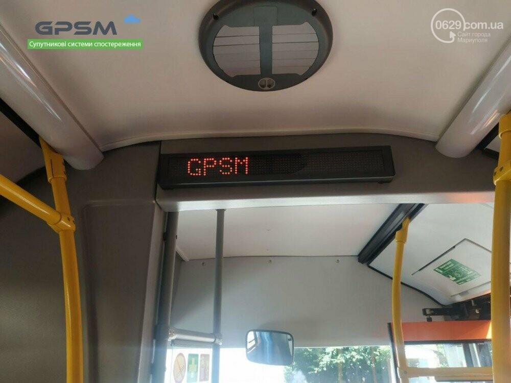 В Мариуполе запустили обновленную систему автоинформирования пассажиров в автобусах, фото-11