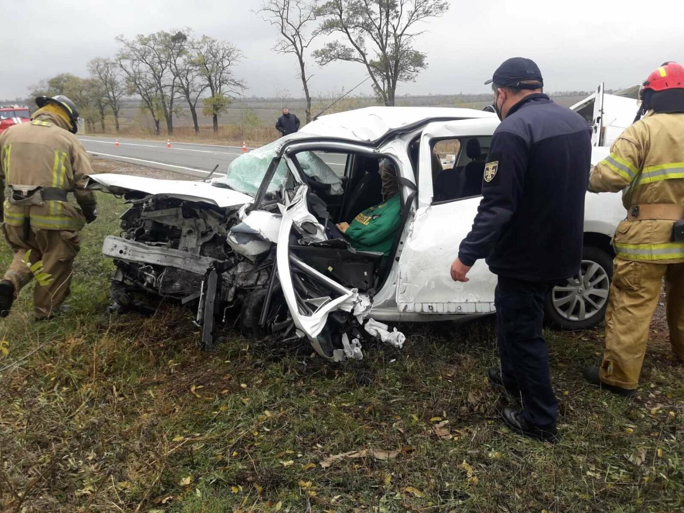 Автомобили вдребезги. В аварии на трассе под Мариуполем погибли два водителя, - ФОТО 18+, фото-8