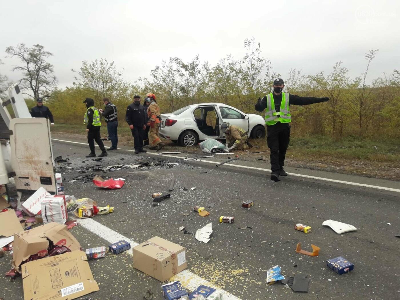 Автомобили вдребезги. В аварии на трассе под Мариуполем погибли два водителя, - ФОТО 18+, фото-12