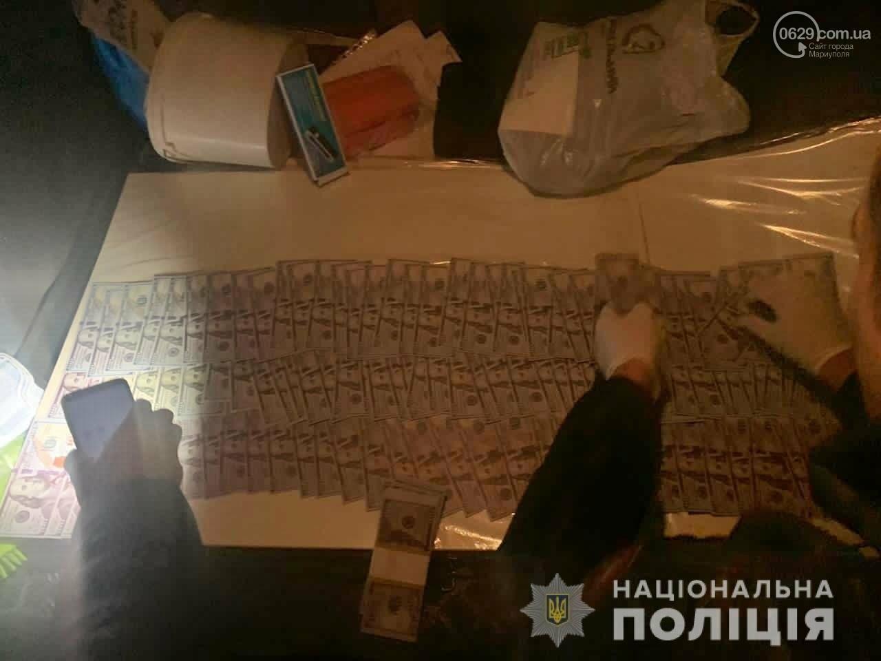 В Мариуполе задержаны чиновники за долларовую взятку, - ФОТО, фото-3