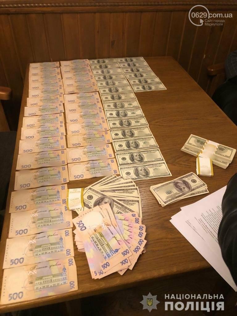 В Мариуполе задержаны чиновники за долларовую взятку, - ФОТО, фото-2