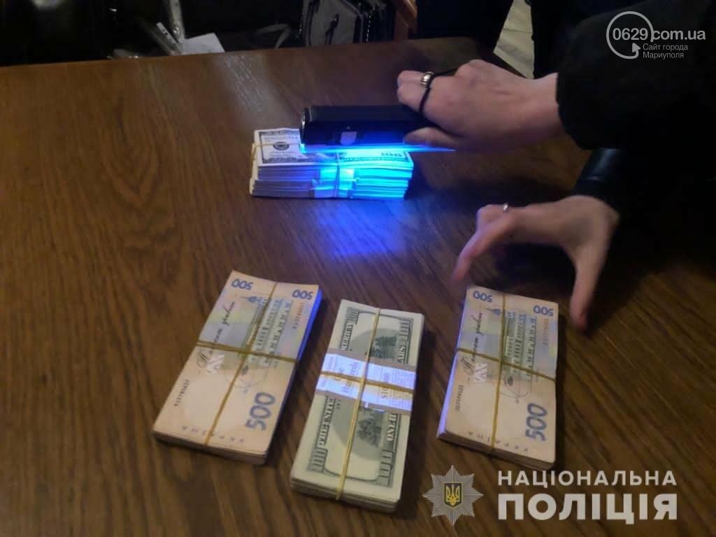 В Мариуполе задержаны чиновники за долларовую взятку, - ФОТО, фото-4