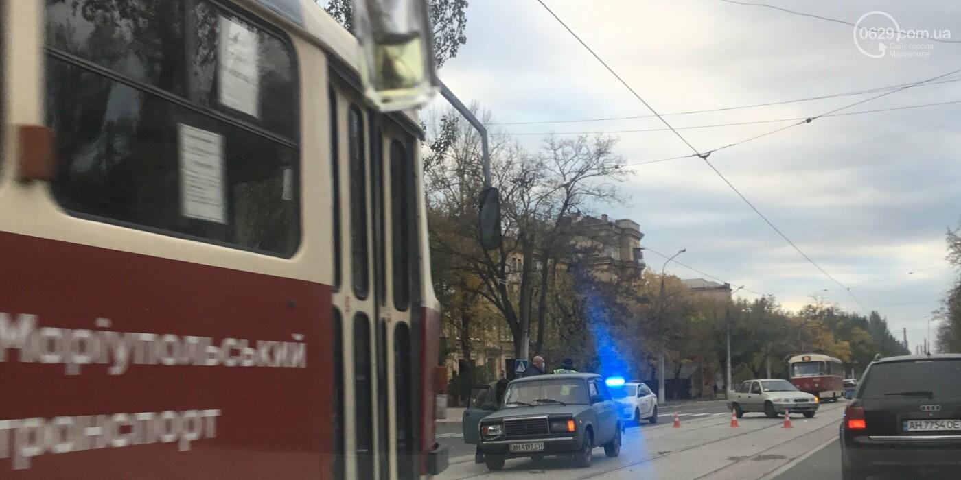 На Левом берегу автомобиль сбил пешехода,-ФОТО, фото-1