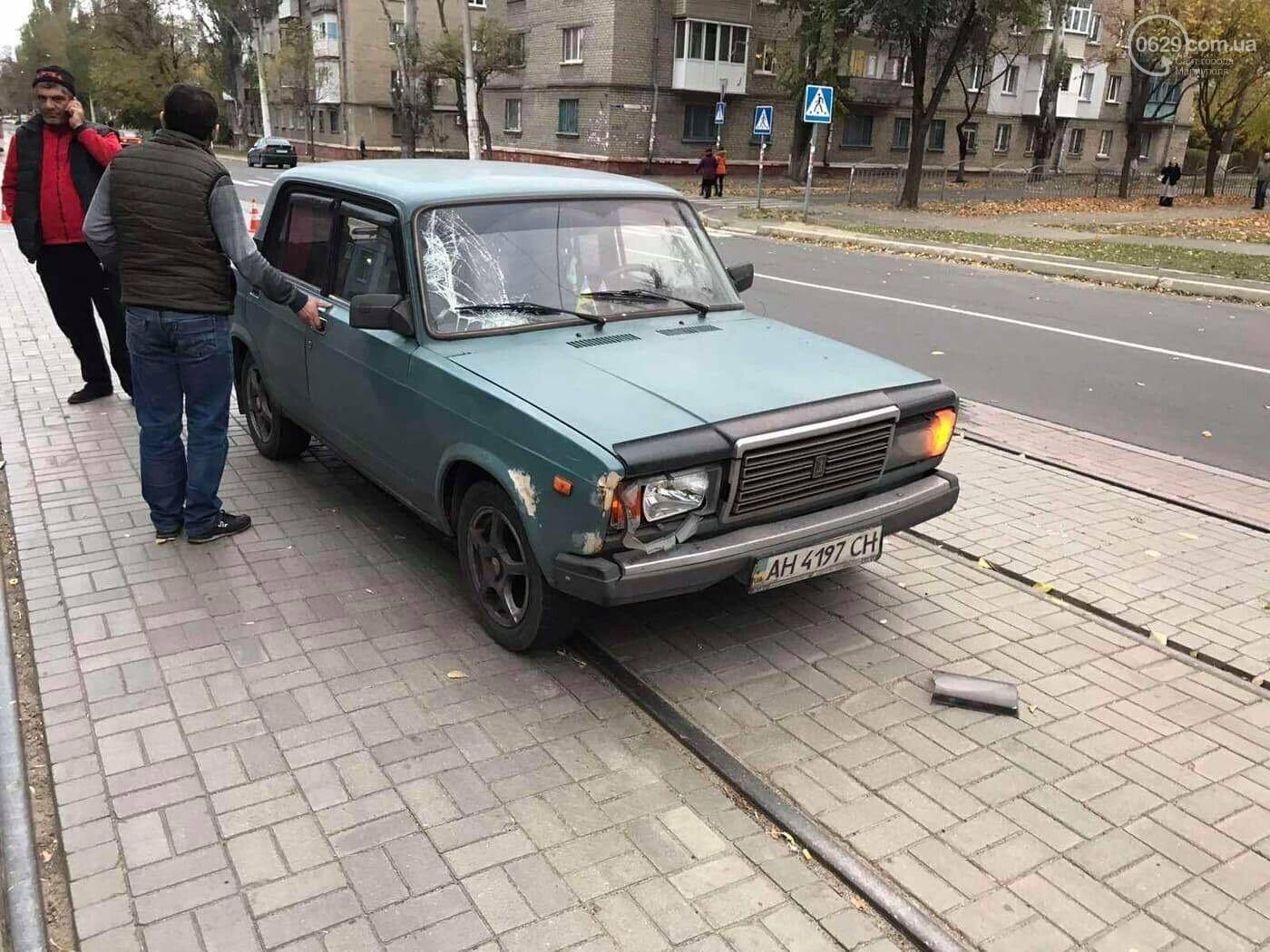 На Левом берегу автомобиль сбил пешехода,-ФОТО, фото-3
