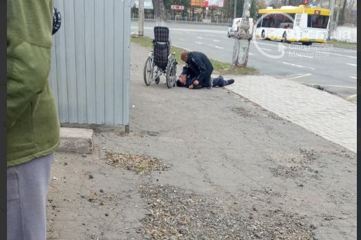 В Мариуполе избили человека с инвалидностью, - ФОТО, фото-1