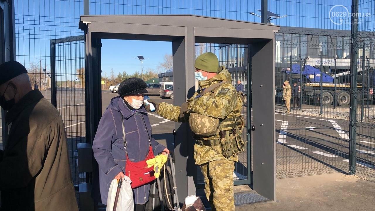 Оккупационные власти заблокировали проход людей на КПВВ в Донецкой области, - ФОТО, фото-4