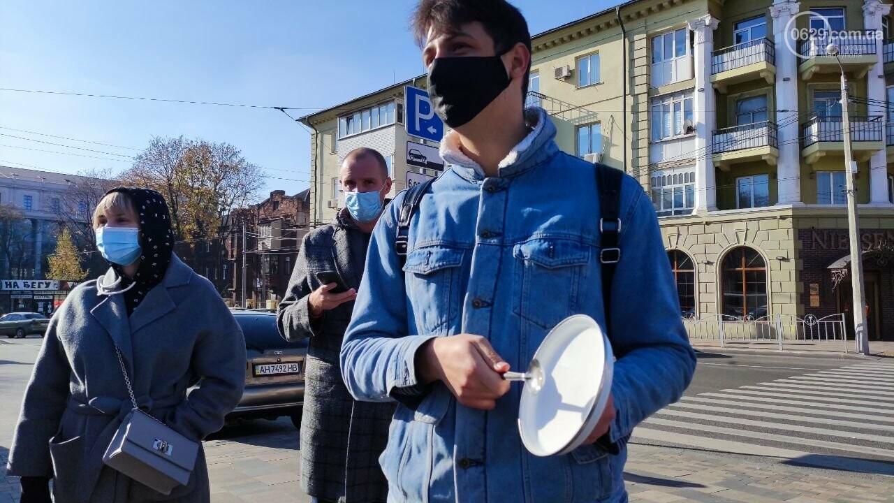 В Мариуполе рестораторы протестуют против карантина выходного дня, - ВИДЕО, фото-10