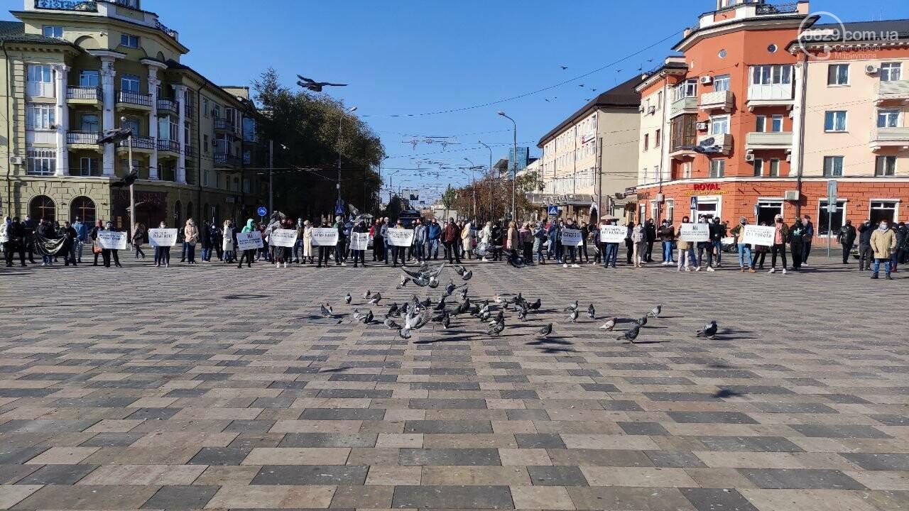 В Мариуполе рестораторы протестуют против карантина выходного дня, - ВИДЕО, фото-1