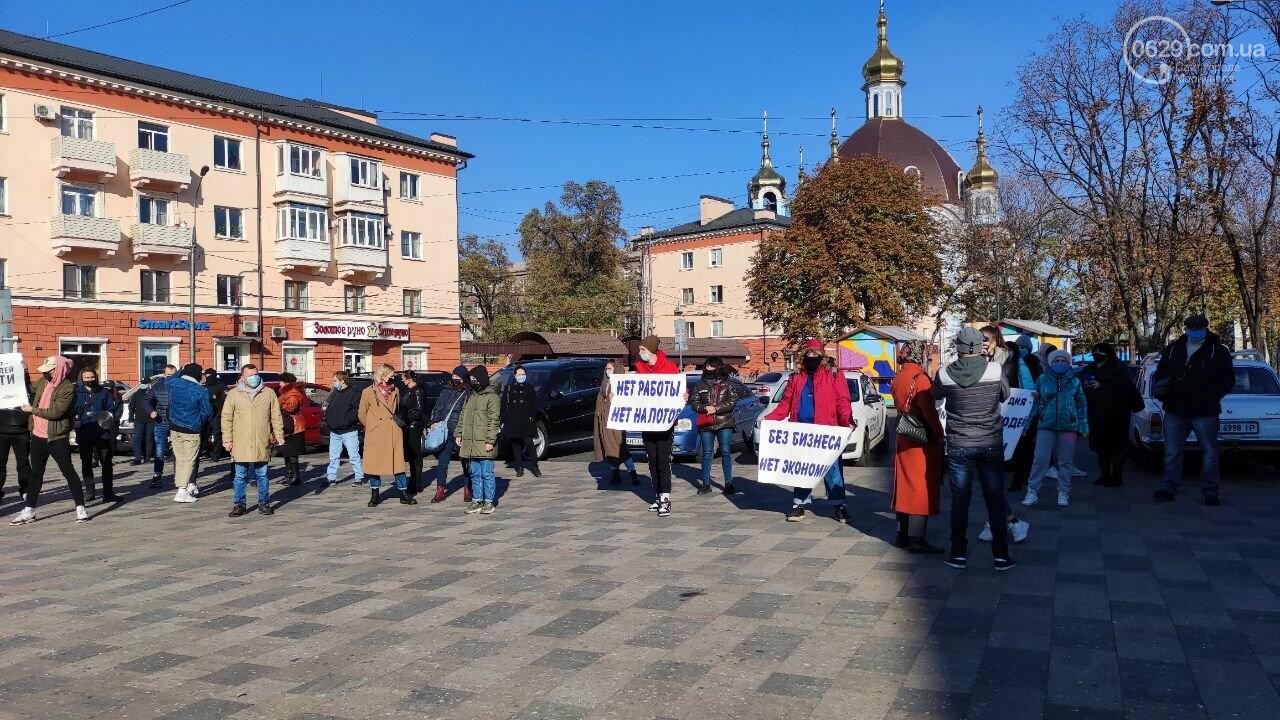 В Мариуполе рестораторы протестуют против карантина выходного дня, - ВИДЕО, фото-35