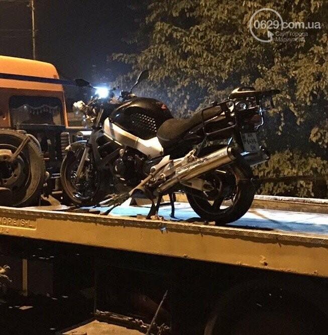 В Мариуполе перевернулся 30-летний мотоциклист,- ФОТО, фото-2