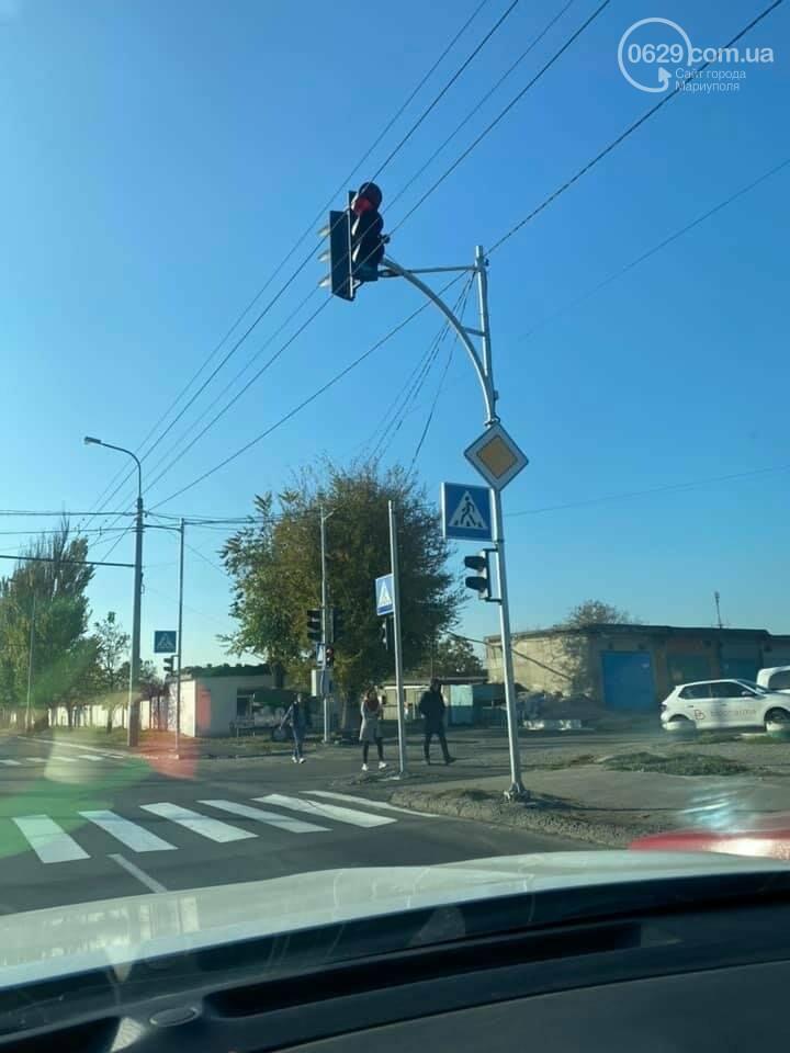 Новый светофор и секция! Как центр Мариуполя освободили от заторов,- ФОТО, фото-3