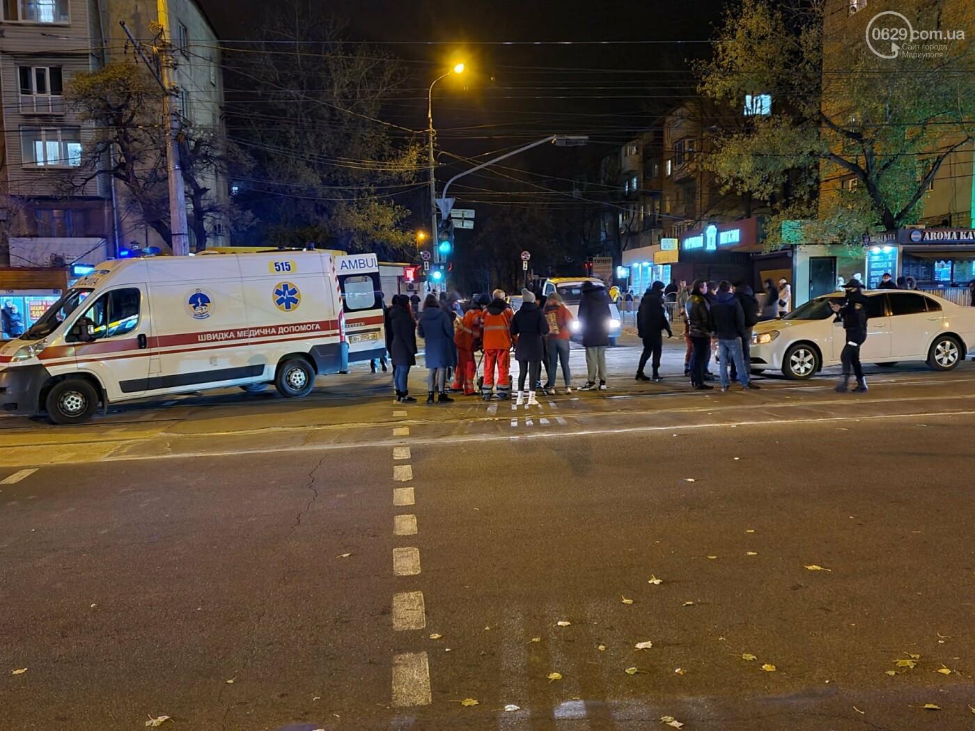 В Мариуполе автомобиль сбил пешехода, - ФОТО, фото-1