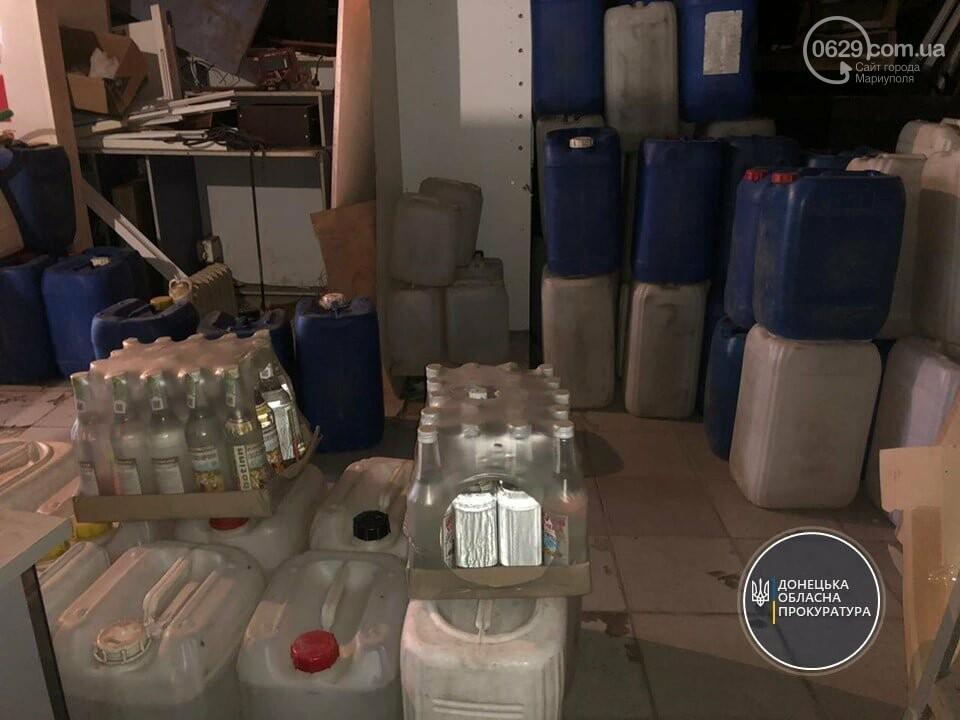 """В Мариуполе конфисковали  4 тысячи литров """"паленки"""", - ФОТО, фото-1"""