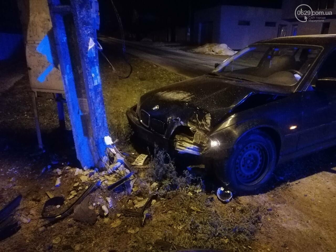 Снег выпал. В Мариуполе сразу несколько аварий на скользких  дорогах,- ФОТО, фото-2