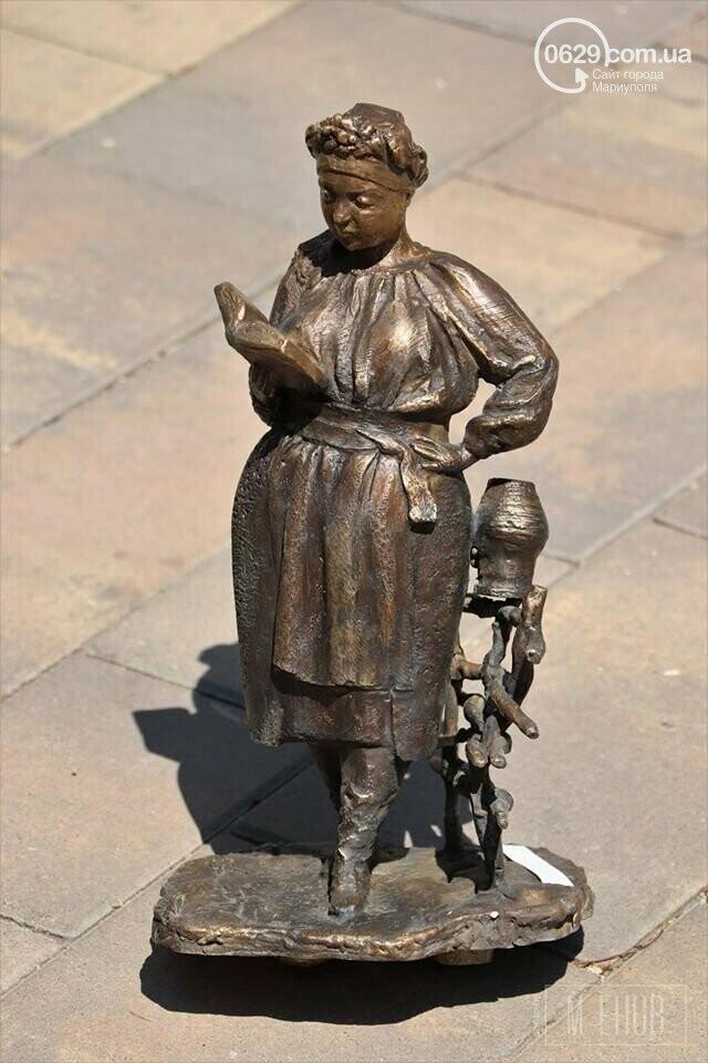 Больше нет кораблика и женщины-казачки! В Мариуполе похитили кованые скульптуры, - ФОТО, фото-2